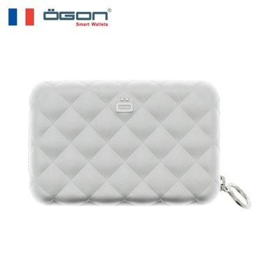 OGON 法國歐夾 QZ-系列 菱格卡包(原裝進口高端商務禮品)