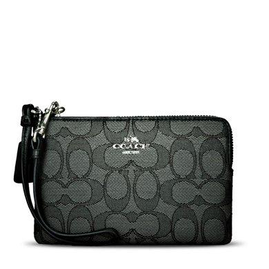 [支持購物卡]COACH/蔻馳 女款女包錢夾錢包 豎款手腕包  64283