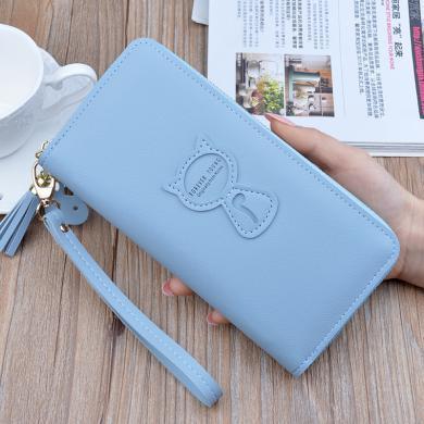 搭歌新款手拿钱包女士长款拉链韩版时尚手提包零钱包大容量手机包TY-2061