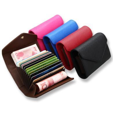 搭歌十字紋風琴防磁防RFID卡包卡套時尚男士女士卡包MKB66