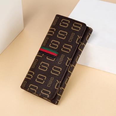 GSQ古思奇女士錢包新品時尚字母錢包卡包錢包女零錢包NQ8131