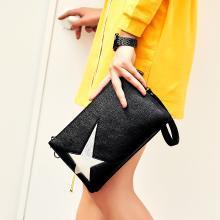 ANMLY/安魅力斜挎小包包女款韓版手拎包信封包學生星星手抓包手拿包女包A8025