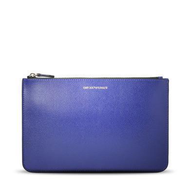 [支持購物卡]E.Armani/阿瑪尼包 時尚潮流純色休閑手拿包Y3H093