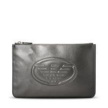 [支持购物卡]E.Armani/阿玛尼包 2018新款时尚潮流纯色休闲手拿包Y3H093