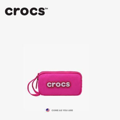Crocs2019時尚休閑防潑水迷你尼龍三層零錢小方包長款手拿包