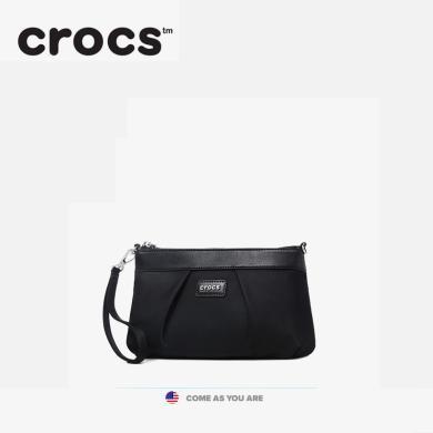 crocs女包2019手拿包媽媽女士包手挽包手抓包斜挎單肩包