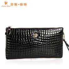 勞斯帥特2018新款女包手提包 時尚石頭紋女式包包手拿包單肩包HKU21-0020大號