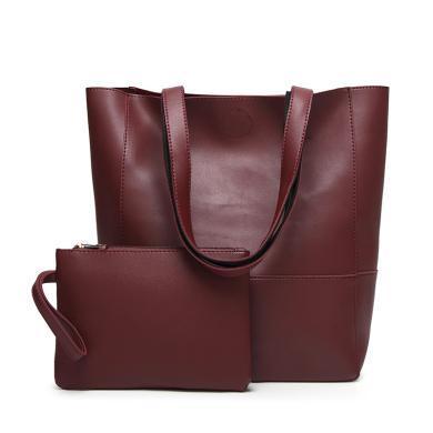 搭歌 歐美時尚女包包簡約時尚子母包大容量單肩手提包  JY96