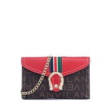LANVERA朗薇 新款欧美时尚单肩斜挎包链条包简约手拎包信封包L8679