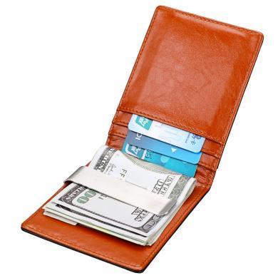 搭歌 2019新款RFID防盜刷美金包歐美小巧迷你美金夾小錢包  MA9601