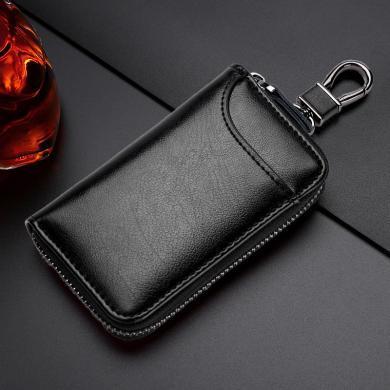 搭歌 大容量拉鏈汽車鑰匙包腰掛卡包多功能時尚鎖匙扣情侶包有掛扣版 MA9105