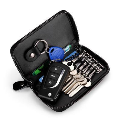搭歌 2019新款大容量拉鏈汽車多功能時尚鎖匙扣情侶包無掛扣版 MA9106