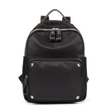 海谜璃(HMILY)新款防水牛津布女士双肩包潮流休闲音乐背包时尚轻便大容量背包 H7012