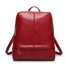 纽芝兰 新款女士韩版双肩背包时尚百搭大容量旅行背包 19600