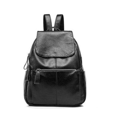 紐芝蘭 韓版新款時尚休閑雙肩包女士大容量軟皮背包旅行包 18720