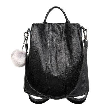 搭歌 新款女士雙肩包防盜軟皮大容量休閑旅行背包DK1801-1#