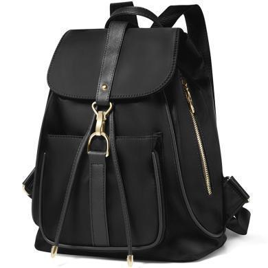 高爾夫GOLF新款時尚防水雙肩包大容量書包休閑簡約學院風女士背包  B699932