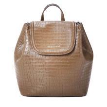 [支持购物卡]E.Armani/阿玛尼女包2018新款纯色休闲双肩旅行背包 Y3L016