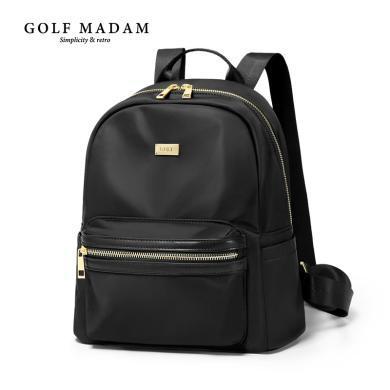 高爾夫GOLF雙肩包女錦綸背包女新款學院風書包簡約休閑旅行小背包  B931957