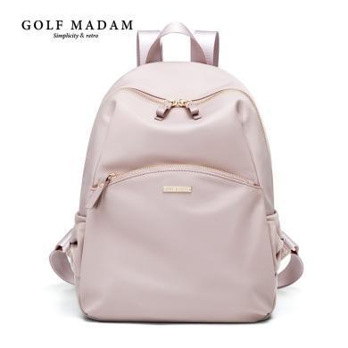 GOLF/高爾夫女背包新款韓版潮牛津布帆布時尚百搭女士旅行雙肩包女 B932924