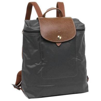 【支持購物卡】Longchamp 瓏驤 女士便攜折疊雙肩包背包L1699089