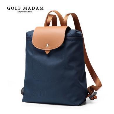 高爾夫GOLF雙肩包新款休閑時尚女生包包簡約百搭防盜旅行小雙肩包  B931909
