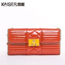 Kaiser凯撒时尚女式钱包 长款女士银包(9139406016A)橙色