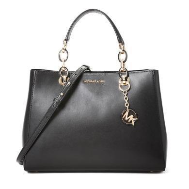 [支持購物卡]MK/邁克高仕  時尚潮流經典百搭女士翻蓋手提單肩斜挎手拎包 Cynthia 中號