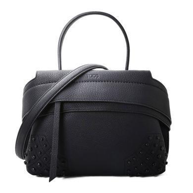 [支持購物卡]TODS/托德斯女包時尚潮流WBVE經典手拎包百搭經典純色手提包迷你 XBWAMRWD101