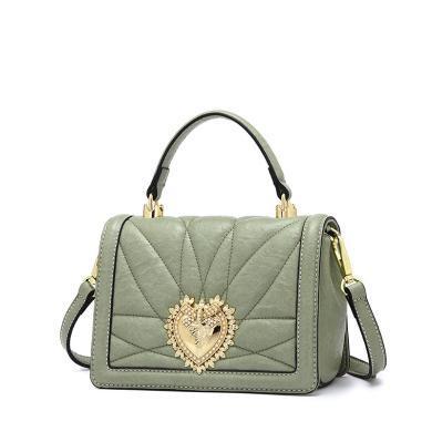 DOODOO 包包女韓版時尚小方包款百搭單肩斜挎包手提包仙女包D8281