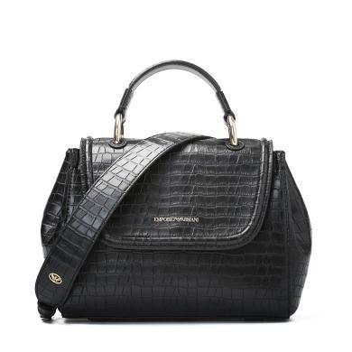 [支持購物卡]E.Armani//阿瑪尼女包 時尚潮流純色歐美時尚休閑手拎手提包 Y3A088