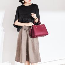 JX新款时尚真皮女包欧美风范铂金包百搭手提单肩斜挎包B6026