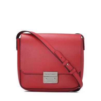 [支持购物卡]E.Armani/阿玛尼女包 纯色休闲翻盖单肩斜挎包 小方包Y3B080