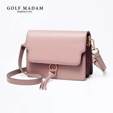 GOLF/高爾夫小ck包包女新款斜挎包潮單肩包時尚百搭小方包 B941971