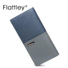 Flattley/福拉特利 时尚牛皮长款钱包Y-8182007B