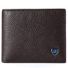 丹爵(DANJUE)頭層牛皮潮流時尚男士錢包輕薄短款錢包高端錢夾禮盒裝 D6026-3