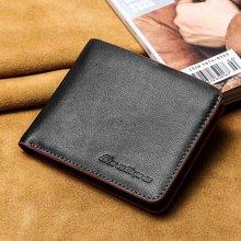 GSQ古思奇錢包 男士頭層牛皮柔軟錢夾多功能錢包駕駛證包Q5003