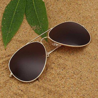 經典款太陽鏡 復古金屬框男女款墨鏡太陽眼鏡ZM2060