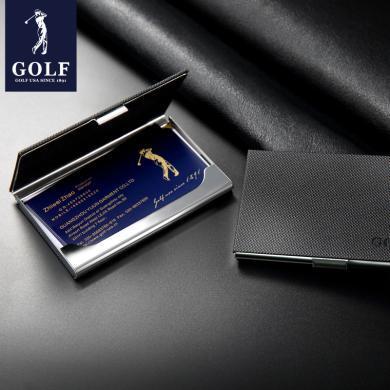 高爾夫GOLF名片夾 男士商務名片夾女士時尚名片盒名片夾禮品  A4GF91951-1F
