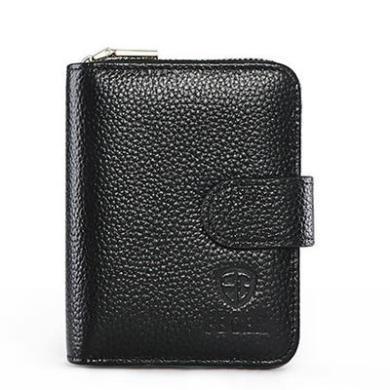 斐格卡包男牛皮大容量證件包駕駛證皮套商務多功能錢包新款TS2003