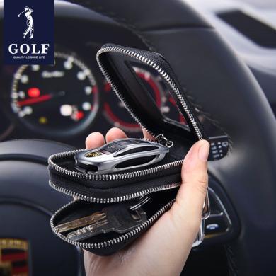GOLF/高爾夫鑰匙包小包真皮男士腰掛汽車鎖匙包牛皮大容量多功能 Q8GF41904T