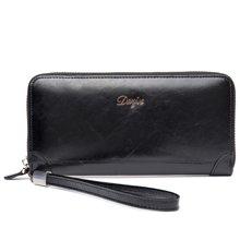 丹爵(DANJUE)新款头层牛皮商务休闲男士手拿包简约时尚绅士品味大容量手包 D6028