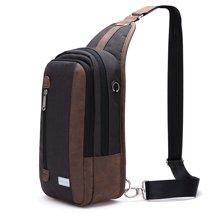 天逸新款男女款单肩包轻商务公文包丹独设计爵士品质出行旅游手机包603