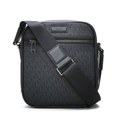 [支持購物卡]MK/邁克高仕 MK男包男款包時尚HARRISON百搭經典單肩斜挎包