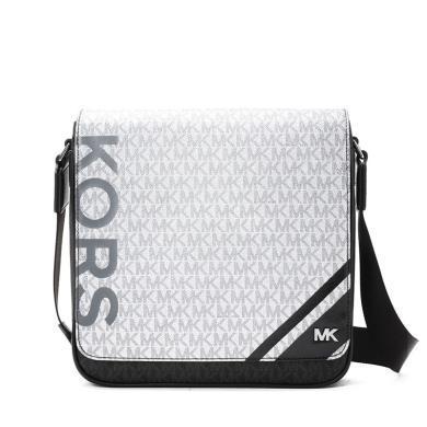 [支持購物卡]MK/邁克·科爾斯 Jet Set Mens 郵差包 中號 印花LOGO款