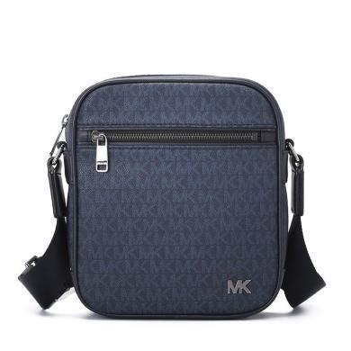 [支持購物卡]MK/邁克·科爾斯 Jet Set Mens 斜挎包 小號 印花LOGO款