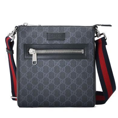 [支持购物卡](预售)GUCCI/古驰 Gucci 高级人造帆布小号邮差包 21*23.5*4.5 (10至20个工作日内寄出)