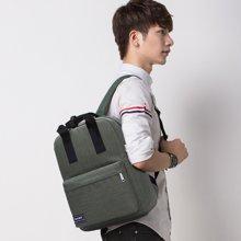 天逸时尚纯色高中大学生男女韩版电脑双肩包户外运动旅游书包登山包T809