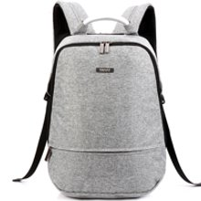 天逸新款电脑包15.6寸双肩包男大容量休闲商务双肩背包女学生书包防水tyxk850