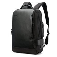 博牌 电脑背包男户外旅行休闲双肩包商务防盗充电多功能男包751-006631